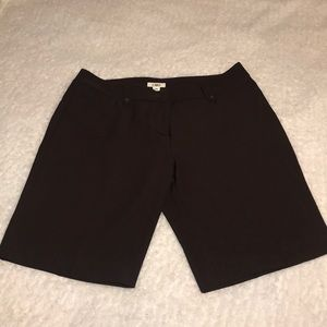 Cato brown Bermuda shorts
